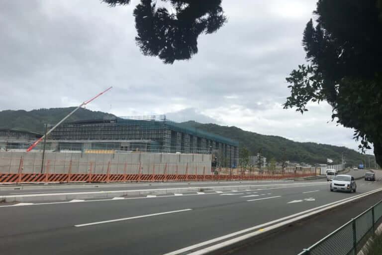 【福山市】福山市総合体育館が2019年度中に完成予定ということで、現場へ様子を見に行ってきました!
